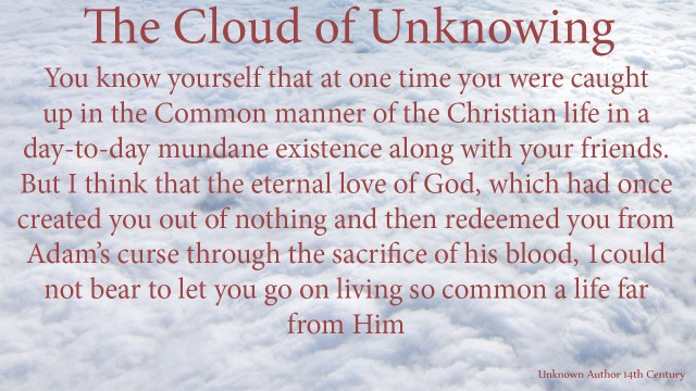 You know yourself that at one time you were caught up in the Common manner of the Christian life in a day-to-day mundane existence along with your friends. But I think that the eternal love of God, which had once created you out of nothing and then redeemed you from Adam's curse through the sacrifice of his blood, 1could not bear to let you go on living so common a life far from Him. thoughtsofgod, mythoughts, thoughts of God, David Reese