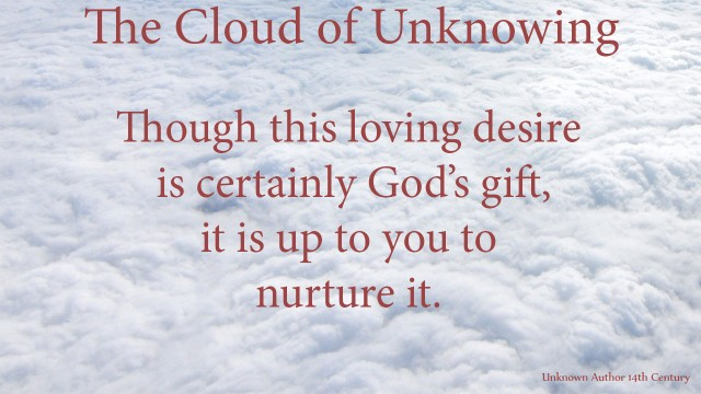 Though this loving desire is certainly God's gift, it is up to you to nurture it. thoughtsofgod, thoughts of God, mythoughts, David Reese