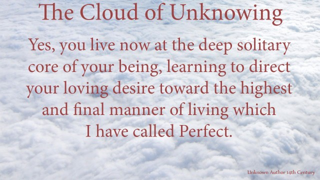 Yes, you live now at the deep solitary core of your being, learning to direct your loving desire toward the highest and final manner of living which I have called Perfect. thoughtsofgod, thoughts of God, mythoughts, David Reese