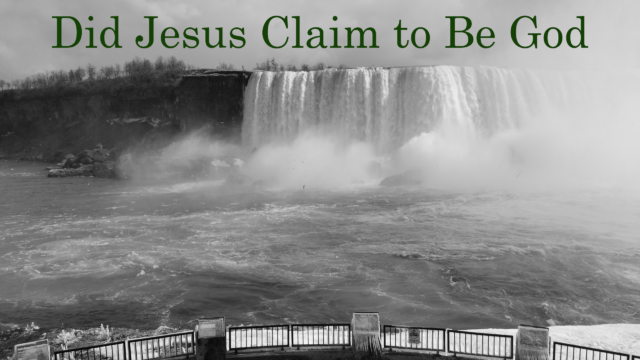 Did Jesus Claim to be God – Related Verses