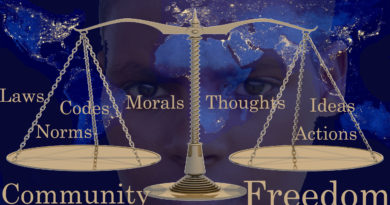 Freedom and Constraint: Self and Community