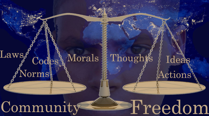 Self and Community Liberty and Restraint and Security Thoughts of God David Reese