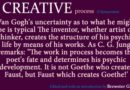 Creative Process: Formative or Formed?