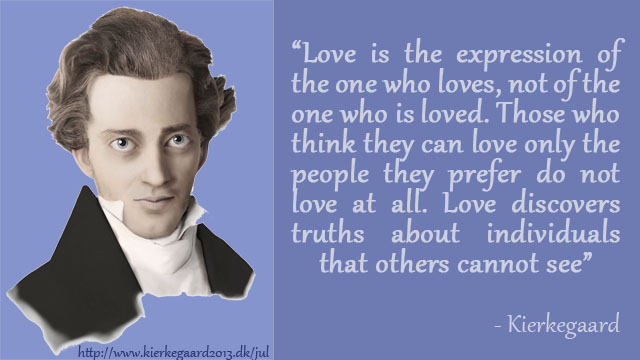 Love Discovers Truths About Individuals That Others Cannot See